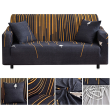 Modern Universal Sofa Cover Elastic Slipcovers Couch Cover Printed Sofa Slipcover Home Decoration Sofa Protector