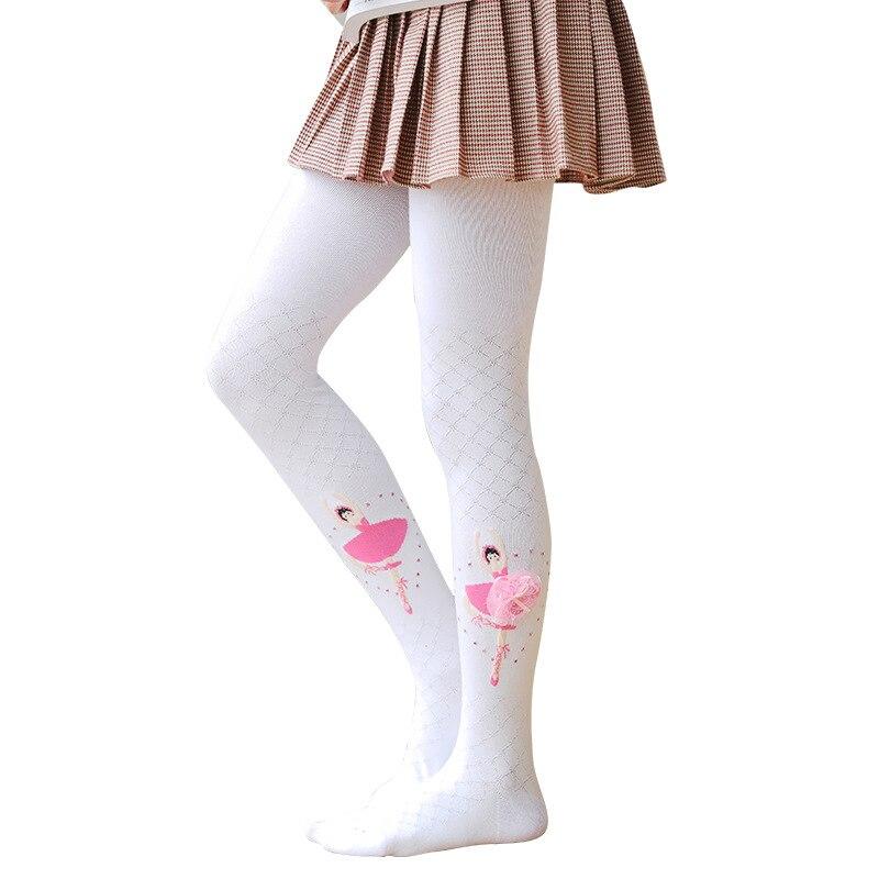Балетные колготки для девочек; Детские танцевальные дизайнерские красивые чулки; Бархатные Волшебные рождественские колготки принцессы; Ц...