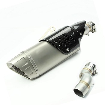 Exhaust Motorcycle for Muffler escape For Yamaha R6 2007 2008 2009 2010 11 12 13 14 15 16 2017 2018 2019 Year Slip-On