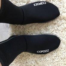 Copozz 3 мм Неопреновые Пляжные Носки для плавания и дайвинга, водонепроницаемые спортивные противоскользящие носки для плавания, серфинга, да...