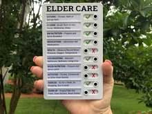 Checklist for RV Notes and Messages Reusable ELDER CARE CHECKLIST Chores Memo RV Board Memo Plastic Board RV Checklist
