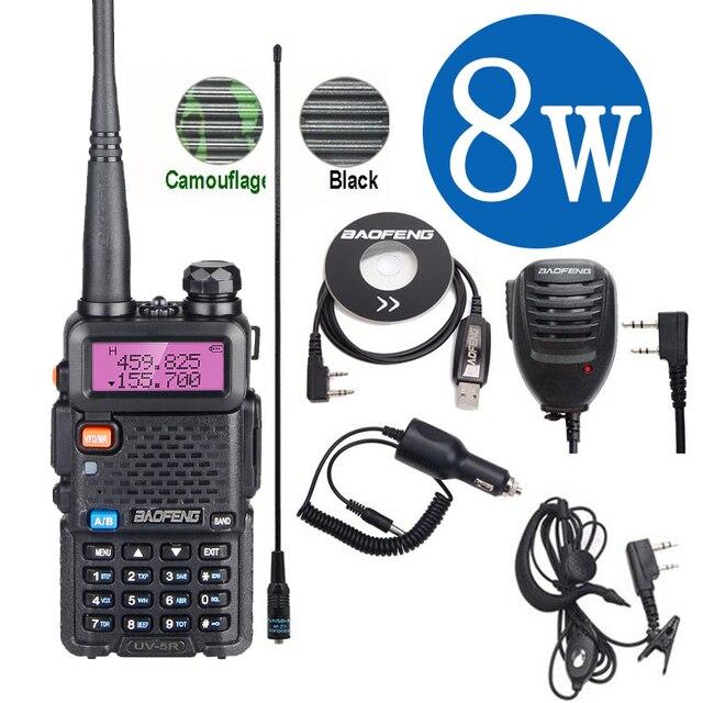 Baofeng Uv 5R Walkie Talkie 10Km Real 8W Two-Way Radio UV-5R Draagbare Ham Radio UV5R Walkie-Talkie Fm Transceiver Amateur Radio