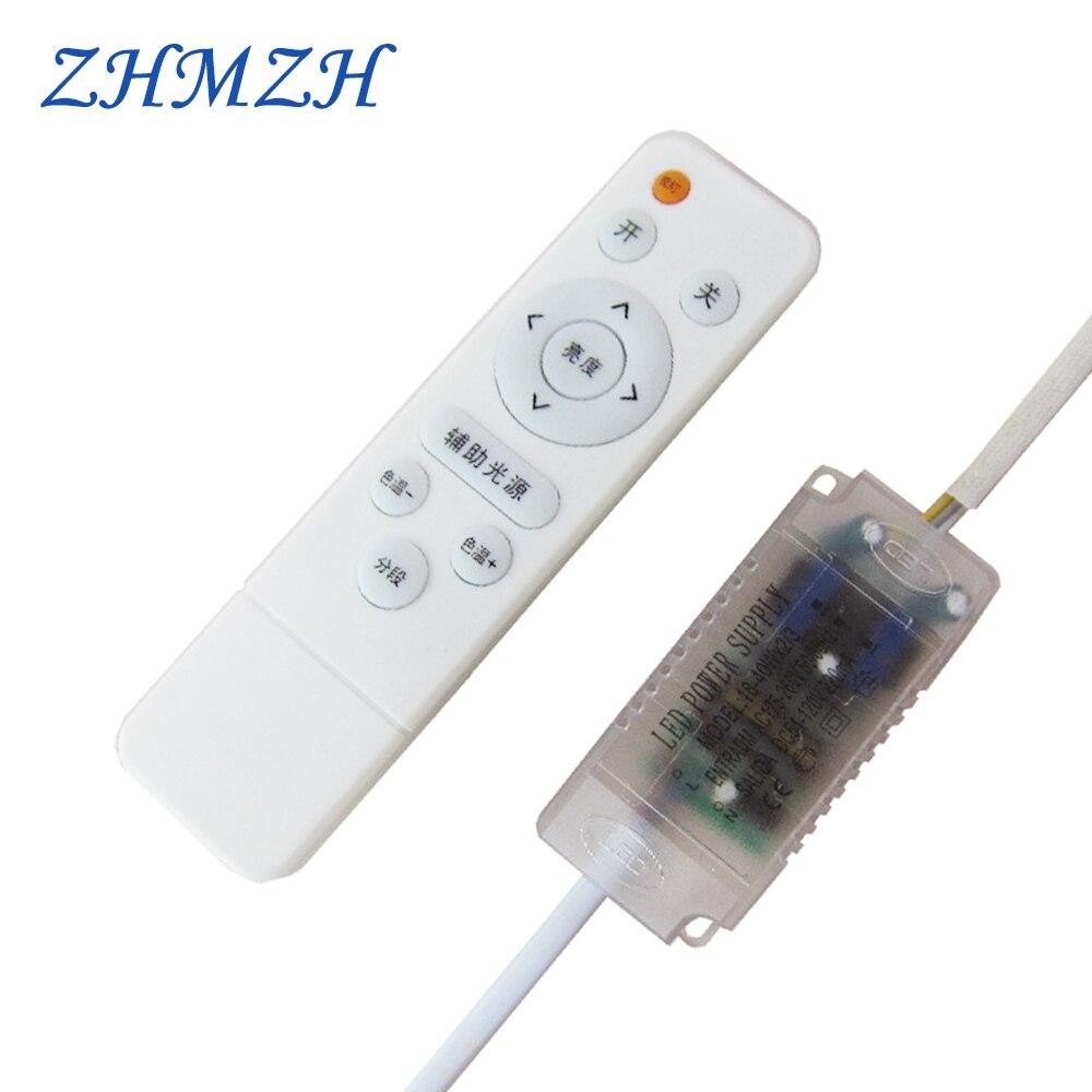 Светодиодный блок питания 230mA с инфракрасным пультом дистанционного управления, 220 В, Dimable с драйвером постоянного тока для светодиода свето...