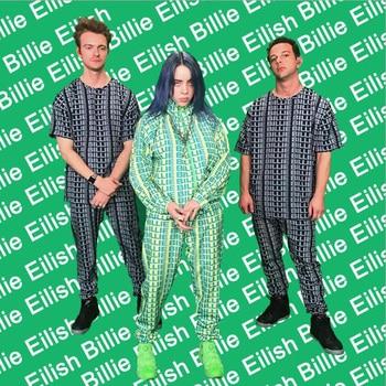 Unisex Billie Eilish mikina, tričko, tepláky – 2 farby