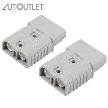 Autolet 2 шт. для Anderson стиль штепсельные Разъемы 175A 600 в 1/0 AWG AC/DC электроинструмент для AWG покрытием из твердой меди клеммы