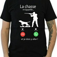 Casa de banho la chasse mappappelle... Camiseta masculina de alta qualidade