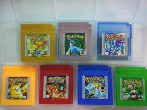 TAKARA TOMY Pokemon Series 16 Bit Video Game Cartridge Console Card Classic Game Collect Colorful Version English Language
