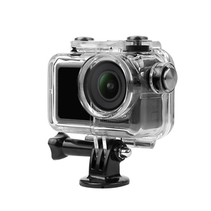 Image 2 - Sunnylife Sport Camera 60M Waterproof Case Diving Shell Housing for DJI OSMO ACTION Underwater Cover Diving Filters Accessory