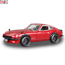 Maisto 1:18 Nissan 240Z sports car Alloy Retro Car Model Classic Car Model Car Decoration Collection gift autoart 1 18 nissan alto skyline nismo s1 alloy model car page 5