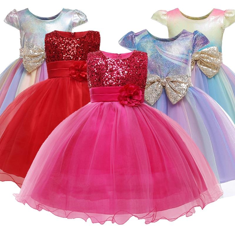 Beautiful princess   flower     girl     dress   summer tutu wedding birthday birthday   dress     girl     dress   child new year costume