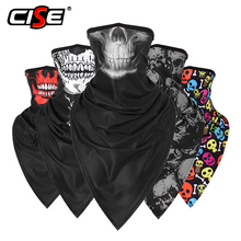 Skull Ghost Balaclava Headband Motorcycle Moto Neck Gaiter Face Mask Cover Tube Scarf Motocross Biker Cycling Bandana Men Women