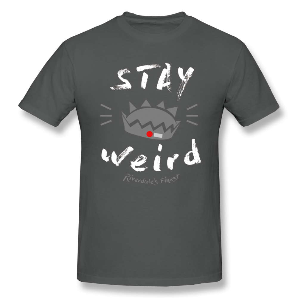 Cole Sprouse T Shirt JUGHEAD STAY WEiRD T Shirt Printed Short Sleeves Tee Shirt Funny 6xl Fashion Mens 100 Cotton Tshirt in T Shirts from Men 39 s Clothing