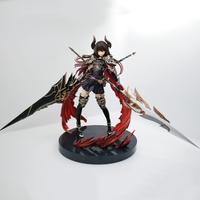 Action Rage of Bahamut GENESIS Devil Dark Girl Anime Figure Toys Model Brinquedos Knight PVC 1/8 Collector Figures Juguetes Doll