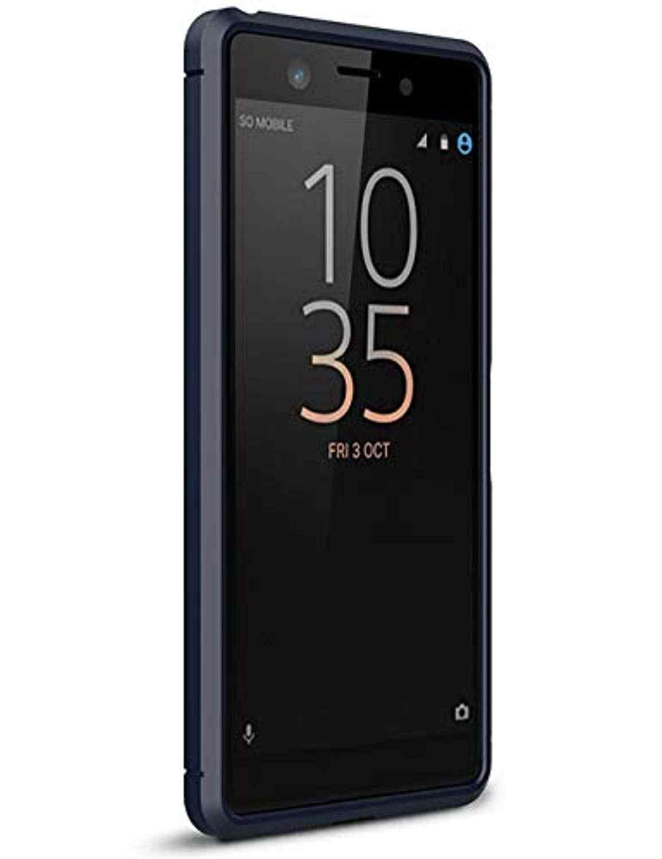 In Fibra di carbonio Armatura Molle Del Silicone di TPU Fundas Coque per Sony XZ4 Compatto XZ3 XZ2 XZ1 XA3 Ultra XA2 XA1 Più xperia 1 2 10 20 Della Copertura