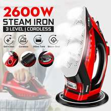 2600W 5 Gear Portable Mini Electric Garment Steamer Steam Iron For Clothing Ironing Machine Adjustable Ceramic Soleplate Iron