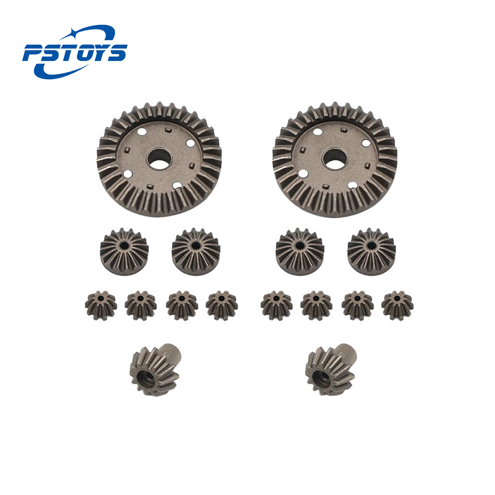 <font><b>Wltoys</b></font> <font><b>12428</b></font> Upgrade <font><b>Metal</b></font> Gear 30T 24T 12T Differential Driving Gears 0011/0012/0013/0014 for 12429 RC Car Spare Parts image