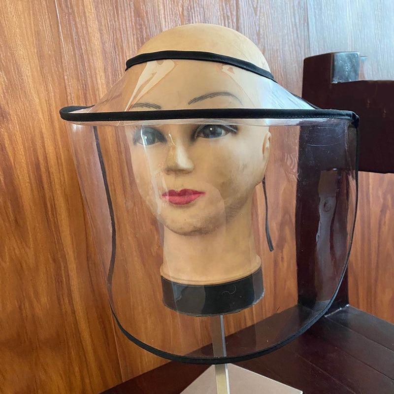NEW Dust Mask Big Hat Anti Dust Japan Anti Virus Coronavirus Cover Full Face Eyes Mask Eyes Face Protection Prevent Flu Spittle