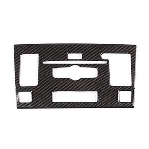 Image 2 - JEAZEA Стайлинг автомобиля центральная консоль CD модуль рамка декоративная наклейка отделка для Mercedes Benz GLK 2010 2012 автомобильные аксессуары