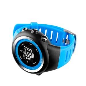 Image 4 - Top Merk Ezon T031 Oplaadbare Gps Timing Horloge Running Fitness Sport Horloges Calorieën Teller Afstand Tempo 50M Waterdicht