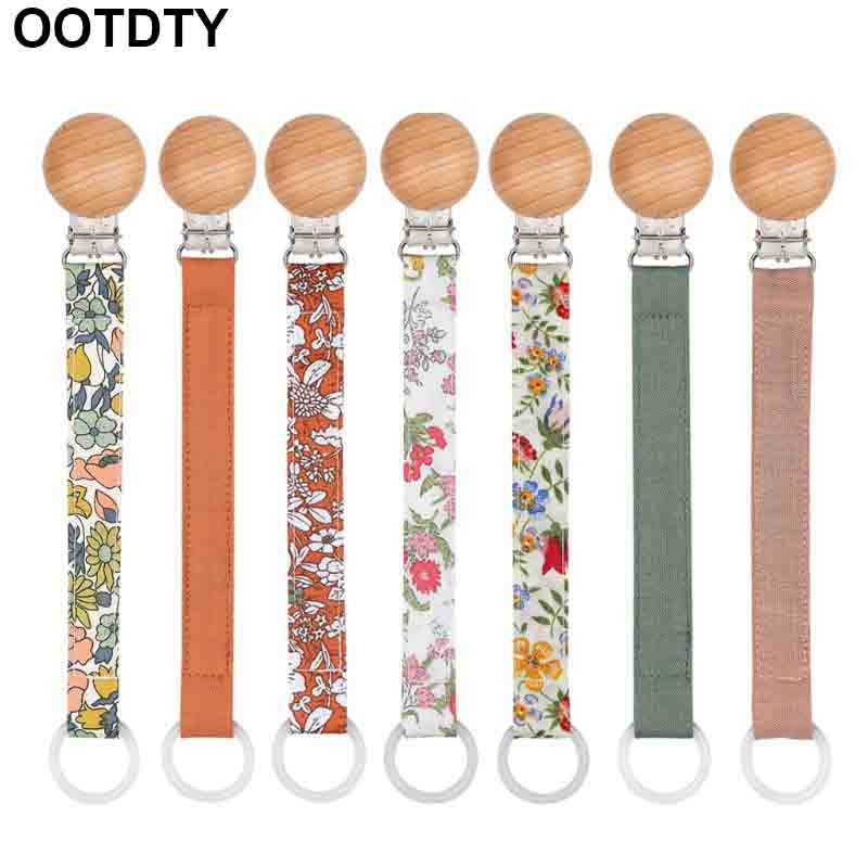 Pacifier Chain Strap Teether Nipple Holder Soother Belt Newborn Toddler Anti Fall Dummy Nursing Care Tools