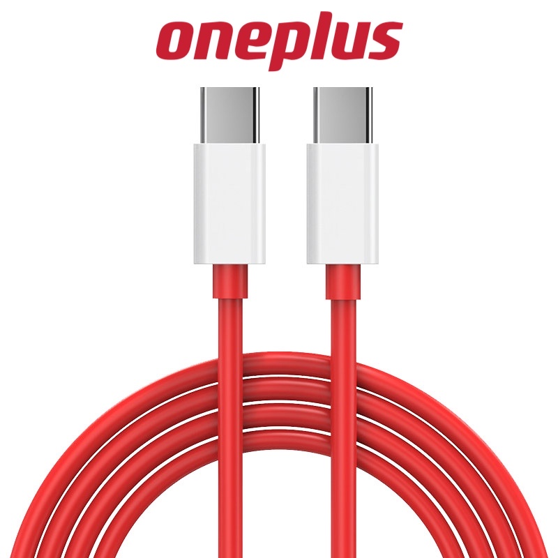 Original Oneplus Warp Charge 65 Type-C to Type-C Charging Cable Flash Fast Charging Cable For One Plus 8T 9 9Pro PD 65w 20w 30w