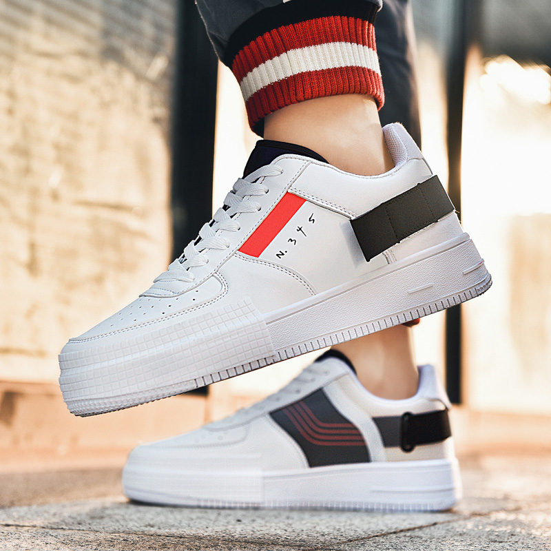 Unisex Men And Women Lovers Fashion Force 1 Off White Brand Shoes Zapatos De Hombre Sneakers Women Outdoor Skateboarding Shoes