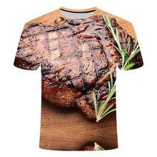 Camiseta con estampado de cerdo negro, divertida camiseta de calle Hip Hop, comida para animales, vaca S-6XL 2021