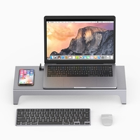 11 En 1 Tipo C USB C Hub Adaptador 4K HDMI Universal Laptop Stand adaptador de cargador inalámbrico