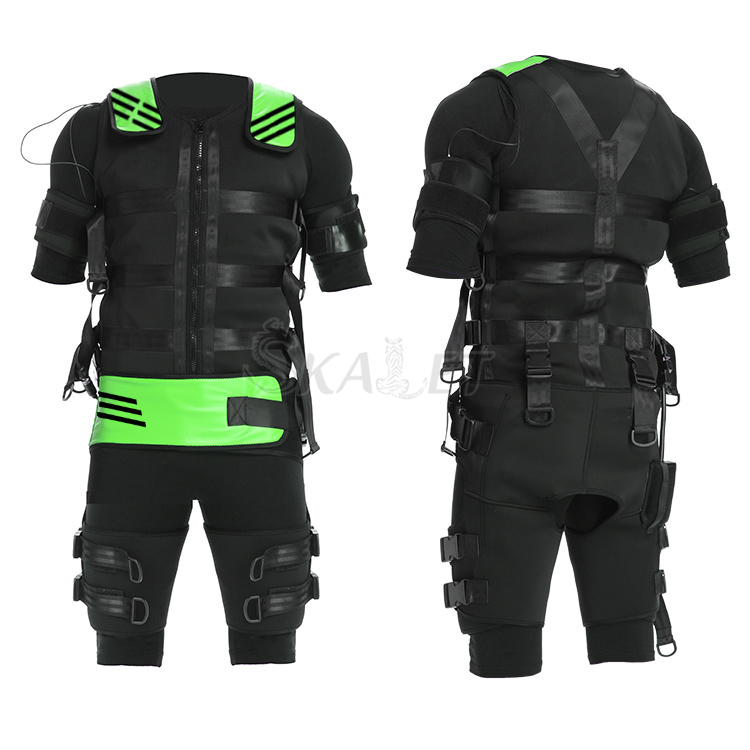 EMS Suit Training-Machine Body-Exercise-Trainer Muscle-Stimulation Wireless Newest Gym