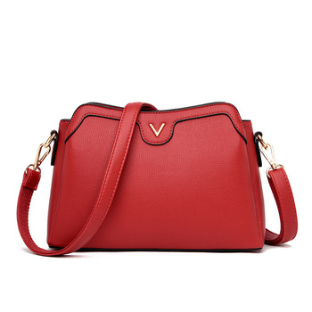 Luxury Brand Leather Crossbody Bags for Women 2020 High Quality Women Fashion Handbag Big Capacity Messenger Shoulder Bags цена 2017