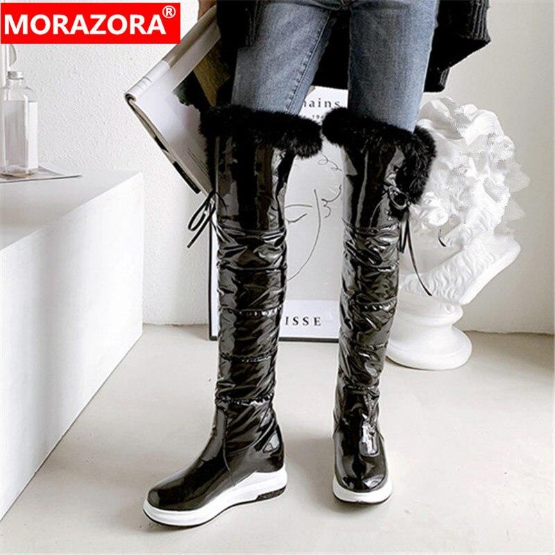 MORAZORA 2020 new arrival thigh high
