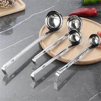 Mini Canning Sauce kadzi ze stali nierdzewnej miarka łyżka do domu wykonane dżem zupa kuchnia narzędzia kuchenne tanie i dobre opinie CN (pochodzenie) Łyżki do odmierzania Ekologiczne measuring tools Metal 1pc lot Zhejiang China(Mainland)