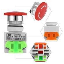 1 nc n/c dpst аварийные выключатели кнопочный переключатель