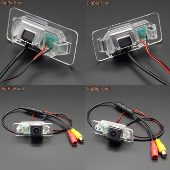 BigBigRoad Car HD Rear View CCD Camera Auto Backup Monitor For BMW X3 X5 X6 E70 E71 M3 E82 E83 E84 3 Series 315 318 320 323 325 image