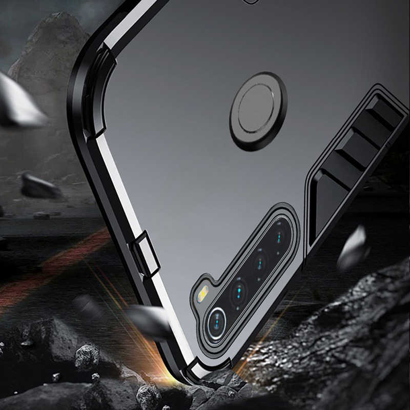Redmi 注 8 T ケースキックスタンドカバケース Xiaomi Redmi 注 8 T 8 T ケースシリコーンフル保護グローバルバージョン