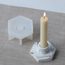 Silicone Mold Tools Candle-Holder Ashtray-Mould Cement Handmade Epoxy Resin Craft