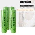 1-4 года шт 100% Новый AAA Батарея 2200 мА/ч, 1,5 V щелочные батареи AAA перезаряжаемый аккумулятор Батарея для удаленного Управление игрушка светильн...