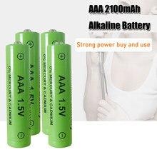1-4PCS 100% New AAA 2200mah Bateria Alcalina 1.5V AAA bateria recarregável para o Brinquedo de Controle Remoto luz Batery