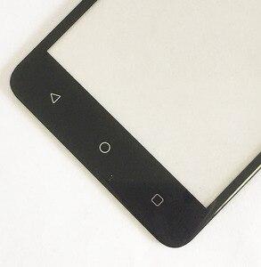 5,0 дюймов для Prestigio Grace P5 PSP5515DUO PSP5515 сенсорный экран стекло дигитайзер панель передняя черный золотой цвет с лентой