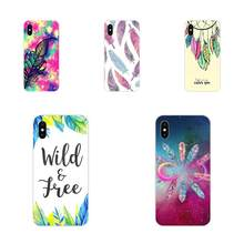 Soft Design Beauty Tribal Ethnic Feathers For Huawei Nova 2 V20 Y3II Y5 Y5II Y6 Y6II Y7 Y9 G8 G9 GR3 GR5 GX8 Prime 2018 2019(China)