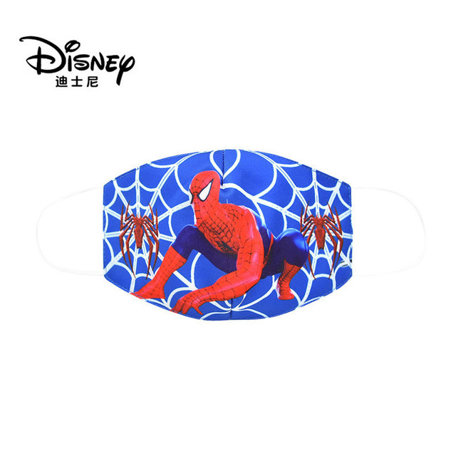 Disney Marvel Spiderman Children's Face Maks Marvel Frozen Cotton Anti-Dust Protective Maks for boys girls toys 2