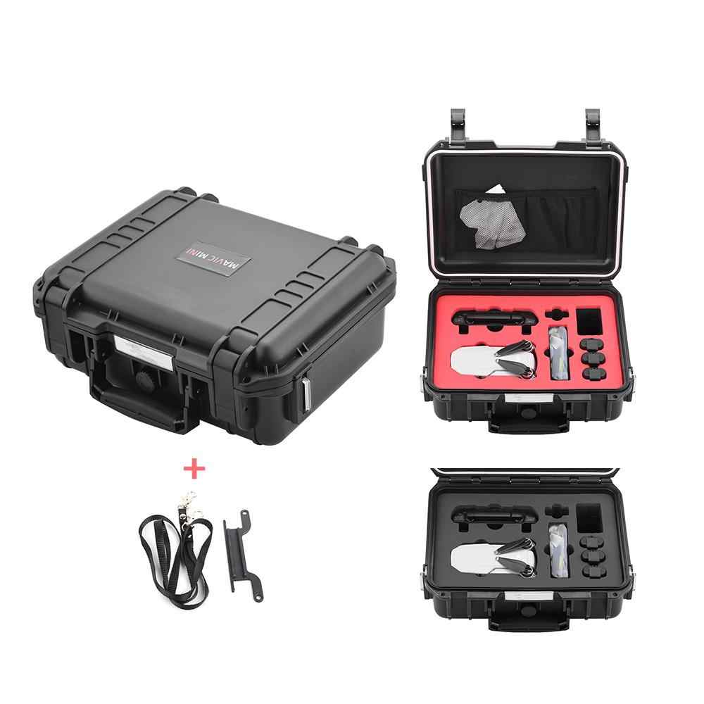 Worek do przechowywania DJI Mavic Mini akcesoria do dronów wodoodporny Hardshell Box przenośny neseser zewnętrzny futerał do przenoszenia r60