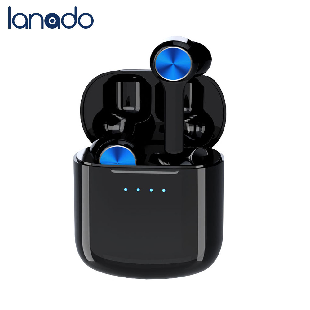 Lanado 2020 New Wireless Earphones TWS Bluetooth Earbuds With Charging Case Music Headset With Mic Earpiece Gaming Headset