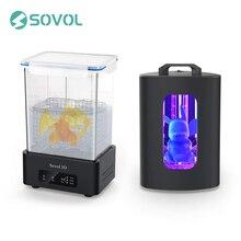 Аппарат для отверждения Sovol SL1 и станция для отверждения и стирки в стиральной машине SL2 для моделей 3D-принтеров SLA DLP и УФ-полимера