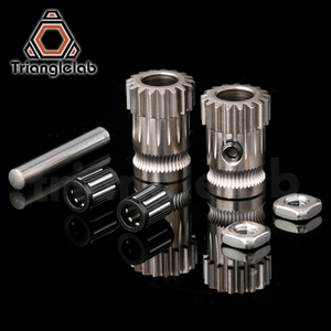 Image 3 - Trianglelab Drivegear عدة محرك مزدوج والعتاد الطارد عدة صغيرة بودن الطارد مستنسخ Btech ترقية ل Prusa i3 طابعة ثلاثية الأبعاد والعتاد