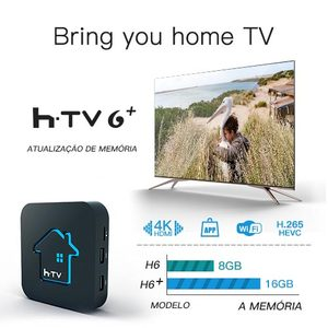 Image 3 - Ai tak pro 1 HTV TIGRE box tigre2 TV BOX HTV6 + htv scatola 6 brasil box BTV Brasiliano TV android box HTV Brasile Media Player