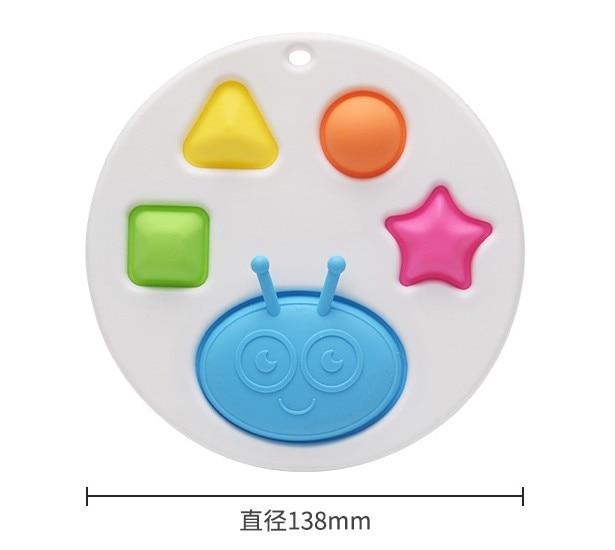 Fidget Toy Push-Pops Simple Keyring Montessori Finger-Exercise Adult Colorful Baby img5
