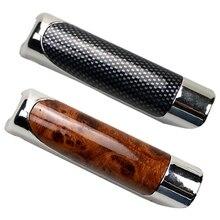 Protector Cover-Accessories Handbrake-Handle Decoration Carbon-Fiber-Pattern Universal