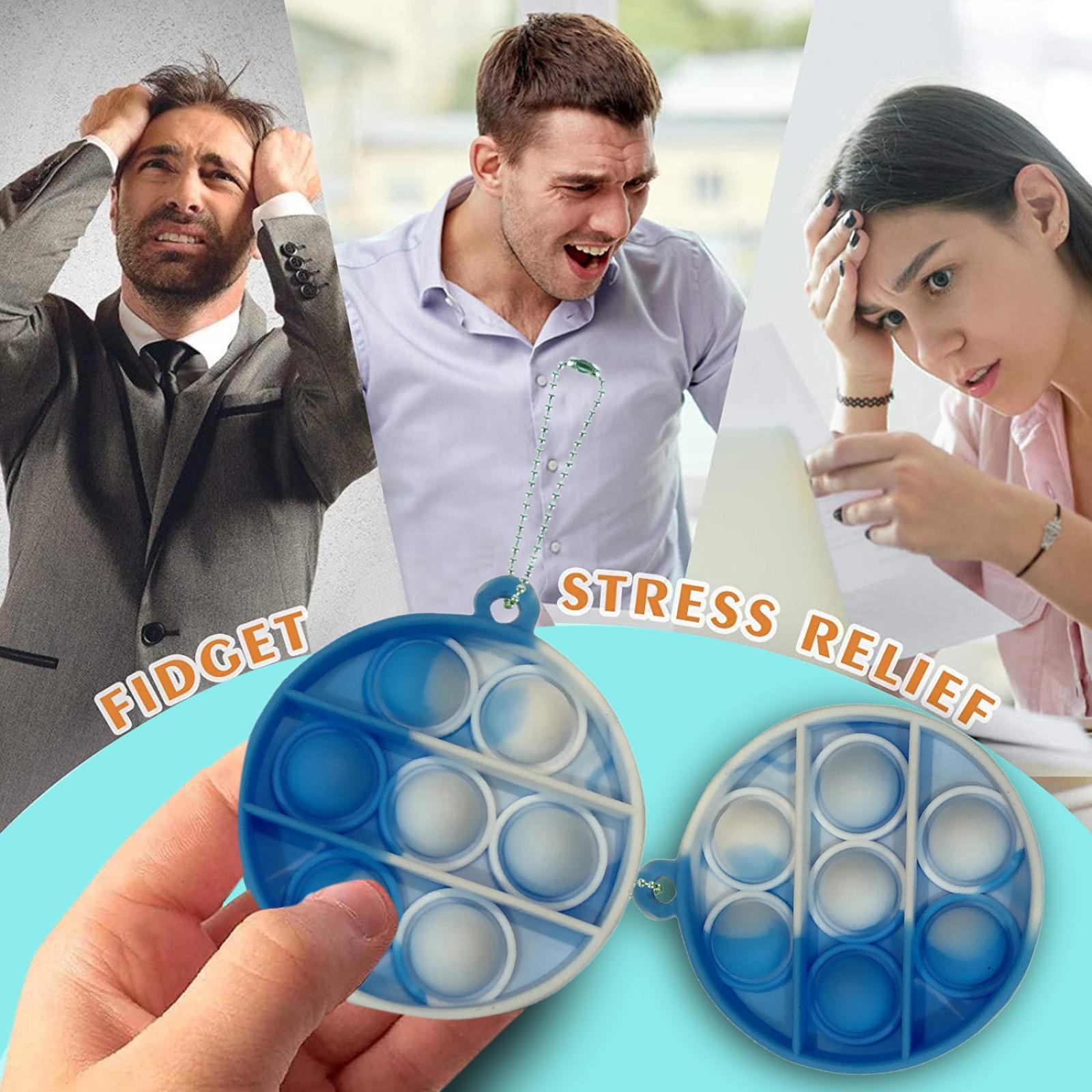 Toys Adult Bubble-Sensory-Toy Autism Fidget Reliver-Stress Funny Squishy Push-Pop Pop-It img2