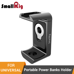SmallRig Holder for Portable Power Banks Holder Clamp With 1/4-20 Threaded Holes +Cold Shoe Mount For Mobile Phone -  2378
